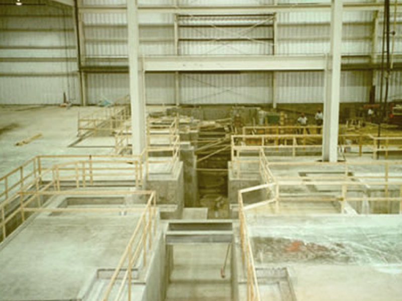 TWC Concrete Industrial Work project with an industrial floor, technical press pit and trenching.